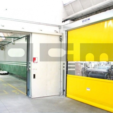 Custom-made roll-up doors