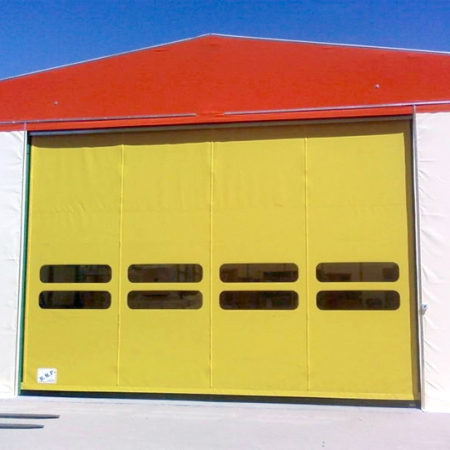 High-speed pvc doors