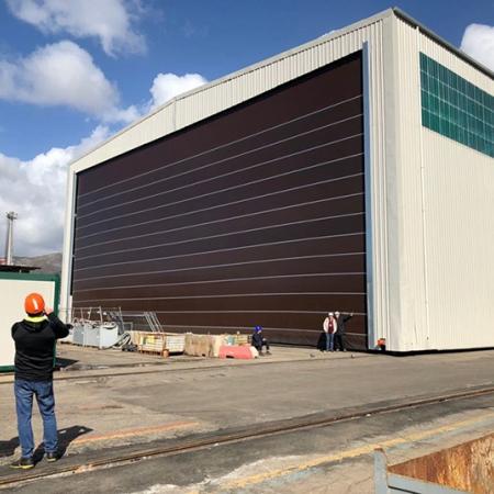 Fold Up Hangar Doors Megapack