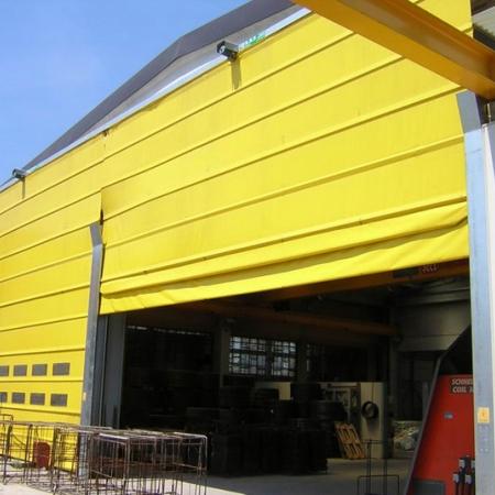 Fold Up Pack Crane Doors
