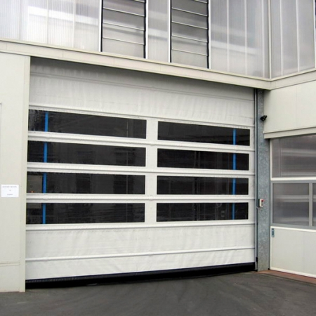Fold Up Pvc Industrial Doors