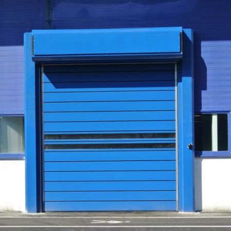 Insulated Industrial Doors Spiral Iso 40