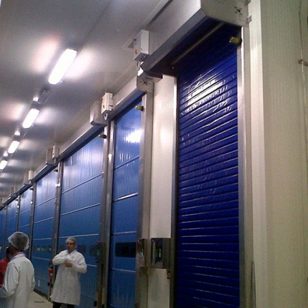 Insulated Pvc Doors Dynamicroll® Frigo 1
