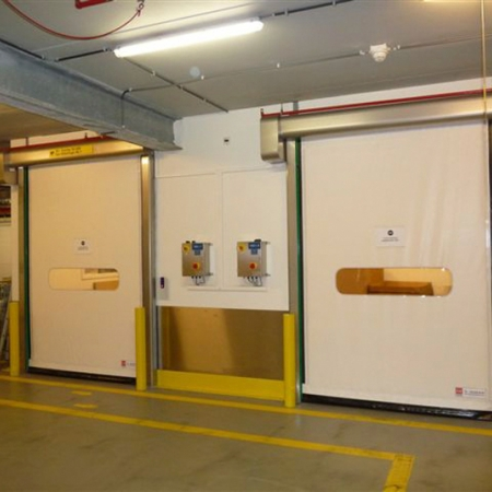 Pvc High Speed Doors Dynamicroll® Food Inox