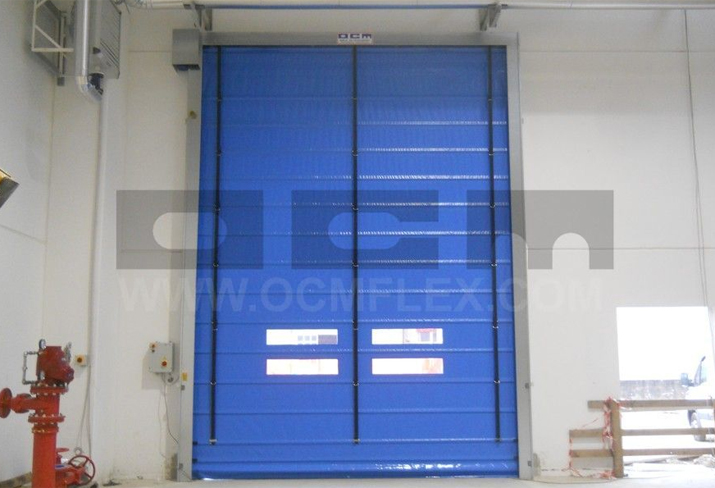 Custom-made fast action doors