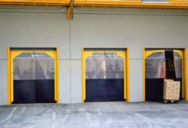 Flexible swing doors