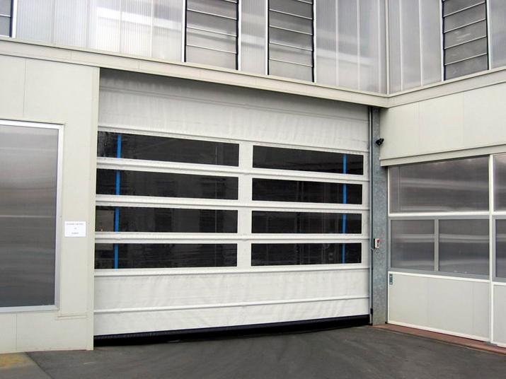Fold Up Pvc Industrial Doors