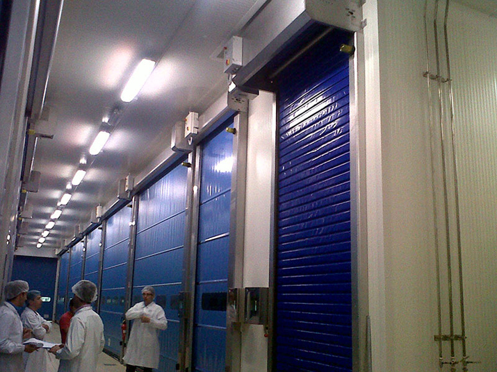 Insulated Pvc Doors Dynamicroll® Frigo 1