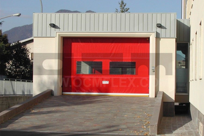 Roll-up doors for emergency rooms