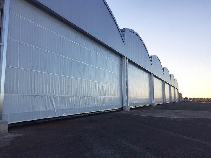 Winding Industrial Shutter Doors Eolo